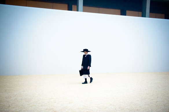 Thom Browne: Backstage- Paris Fashion Week Menswear Autumn/Winter 2013